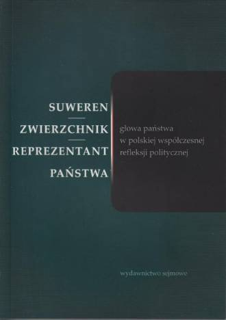 Suweren - zwierzchnik - reprezentant. - okładka książki