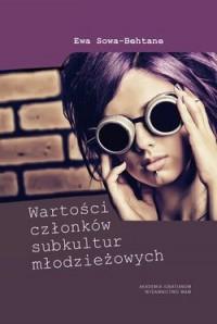 Wartości członków subkultur młodzieżowych - okładka książki