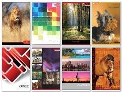 Zeszyt A5, 80 kartek, kratka (10 - zdjęcie produktu