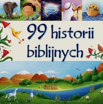 99 historii biblijnych - okładka książki