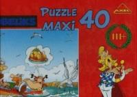 Asteriks i Obeliks. Wyprawa łodzią (puzzle maxi 40-elem.) - zdjęcie zabawki, gry