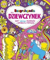 Bazgrolopedia dla dziewczynek - okładka książki