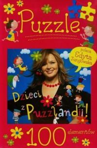 Dzieci z Puzzlandii (puzzle 100-elem.) - zdjęcie zabawki, gry