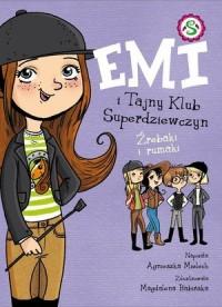 Emi i tajny klub superdziewczyn - okładka książki