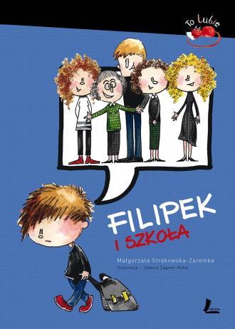 Filipek i szkoła - okładka książki