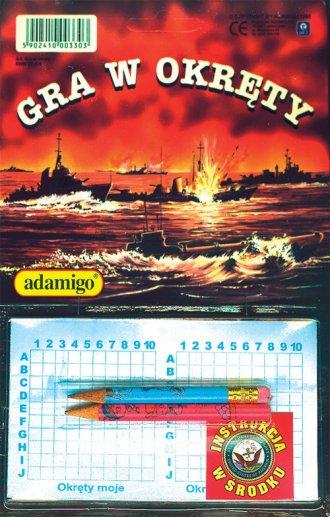 Gra w okręty - zdjęcie zabawki, gry