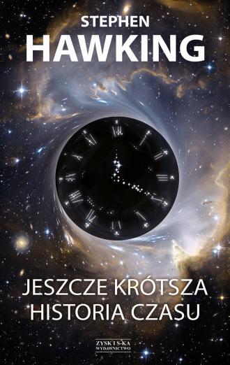 Jeszcze krótsza historia czasu - okładka książki
