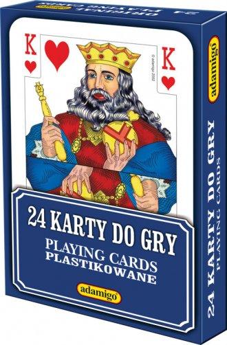 Karty do gry (24 elem.) - zdjęcie zabawki, gry