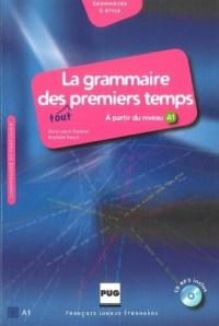 La grammaire des tout premiers temps A1 (+ CD mp3) - okładka podręcznika