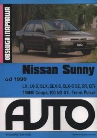 Nissan Sunny. Obsługa i naprawa - okładka książki
