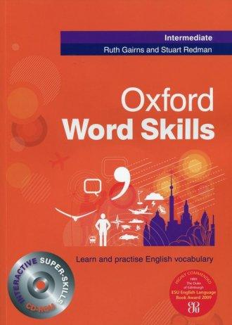 Oxford Word Skills. Intermediate - okładka podręcznika
