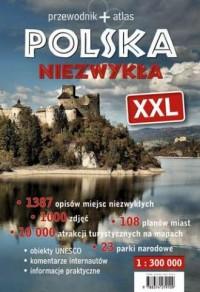 Polska Niezwykła XXL. Przewodnik - okładka książki