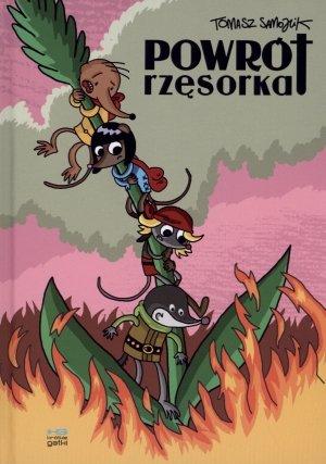 Powrót rzęsorka - okładka książki