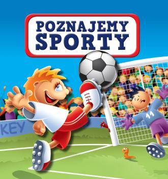 Poznajemy sporty - okładka książki