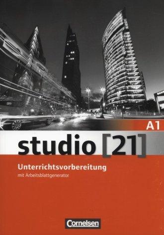 studio 21 A1. Unterrichtsvorbereitung - okładka podręcznika