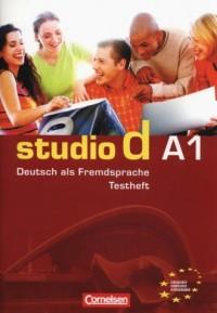 studio d A1. Testheft (+ CD) - okładka podręcznika