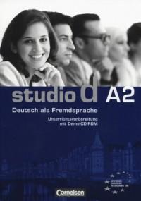 studio d Deutsch als Fremdsprache Unterrichtsvorbereitung mit Demo-CD - okładka podręcznika