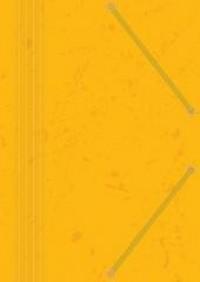 Teczka z gumką A4, z preszpanu, żółta (10 szt.) - zdjęcie produktu