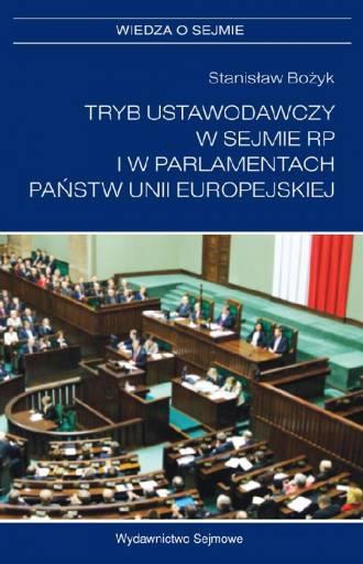 Tryb ustawodawczy w Sejmie RP i - okładka książki
