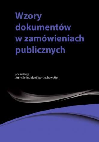 Wzory dokumentów w zamówieniach - okładka książki