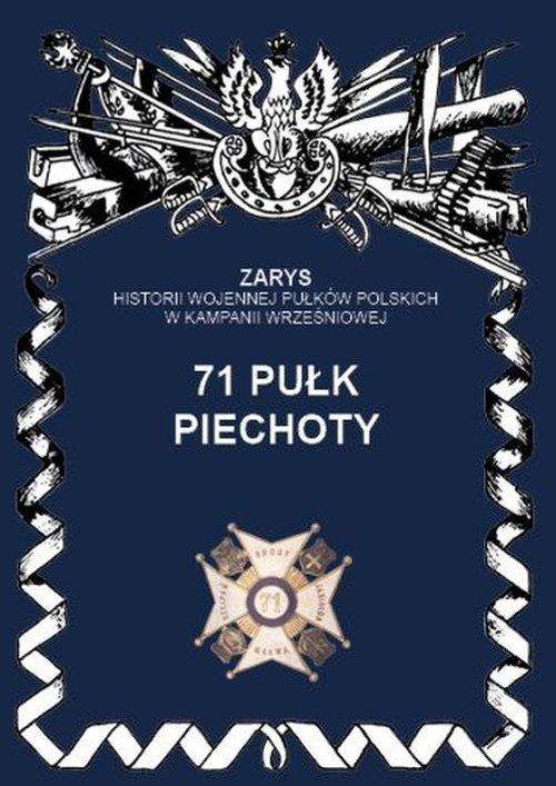 71 pułk piechoty. Seria: Zarys - okładka książki