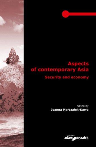 Aspects of contemporary Asia. Security - okładka książki