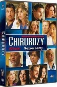 Chirurdzy. Sezon 8 (6 DVD) - okładka filmu