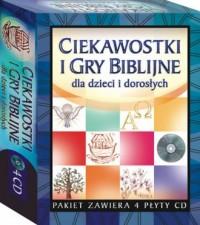 Ciekawostki i gry biblijne dla dzieci i dorosłych (4 x CD) - pudełko programu