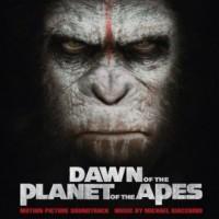 Dawn of the planet of the apes - okładka płyty