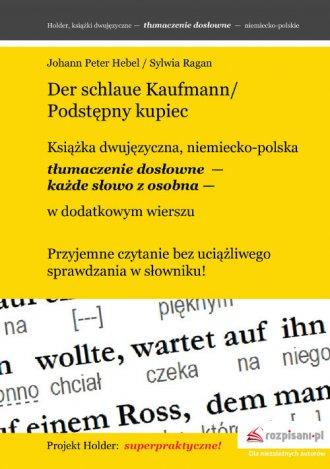 Der schlaue Kaufmann. Podstępny - okładka książki