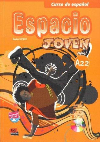 Espacio Joven A2.2. Podręcznik - okładka podręcznika