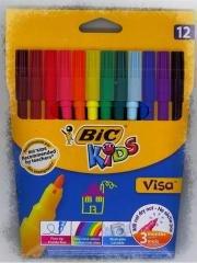 Flamastry KIDS Visa (12 szt.) - zdjęcie produktu
