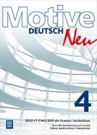 Motive Deutsch Neu 4. Zeszyt ćwiczeń. - okładka podręcznika