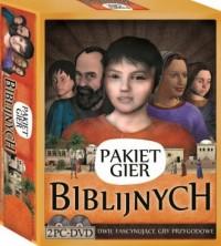Pakiet Gier Biblijnych (2 x PC-DVD) - pudełko programu