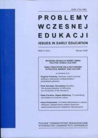 Problemy wczesnej edukacji nr 3 - okładka książki