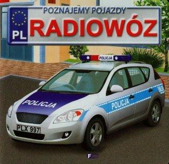 Radiowóz. Poznajemy pojazdy - okładka książki