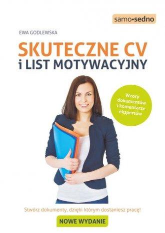 Skuteczne CV i list motywacyjny - okładka książki