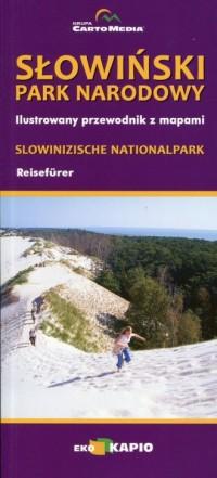 Słowiński Park Narodowy. Ilustrowany przewodnik z mapami - okładka książki