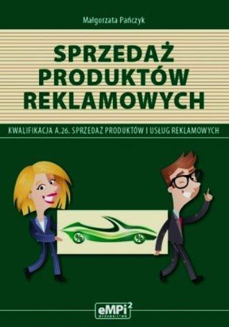 Sprzedaż produktów reklamowych. - okładka podręcznika