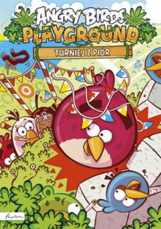 Turniej z piór. Angry Birds Playground - okładka książki