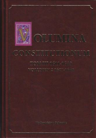 Volumina Constitutionum. Tom 3. - okładka książki