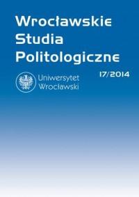 Wrocławskie Studia Politologiczne 17/2014 - okładka książki