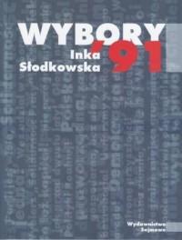 Wybory 91 - okładka książki