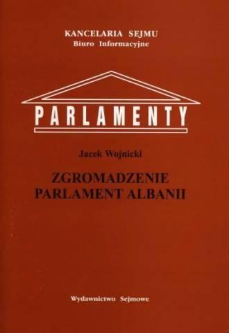 Zgromadzenie Parlament Albanii. - okładka książki
