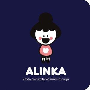 Alinka. Złotą gwiazdą kosmos mruga - okładka książki