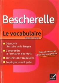 Bescherelle. Le vocabulaire pour tous - okładka podręcznika