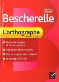 Bescherelle. Lorthographe pour tous - okładka podręcznika