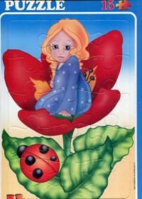 Calineczka (puzzle maxi 15-elem.) - zdjęcie zabawki, gry