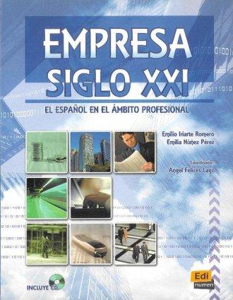 Empresa Siglo XXI. Podręcznik (+ - okładka podręcznika