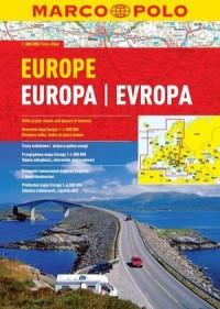 Europa atlas drogowy (skala 1:800 000) - okładka książki